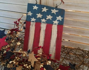 Primitive American Flag