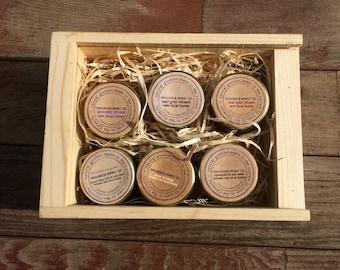 Infused Honey Gift Box -6 Pots