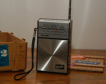 "Graetz ""SUZI 300"" transistor radio by 1968 almost as good as new"