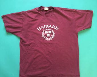 Vintage Harvard t by Champion
