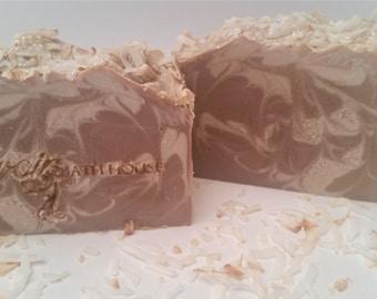 Coconut Cream Pie, Handmade, Cold Process Soap, Handmade Soap, Bar soap