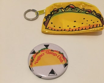 Taco Pocket Mirror