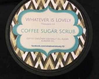 Coffee Sugar Scrub 4 oz