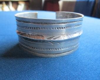 Antique Berber Silver bracelet Silver Bracelet Antique BEDOUIN TUNISIA 800