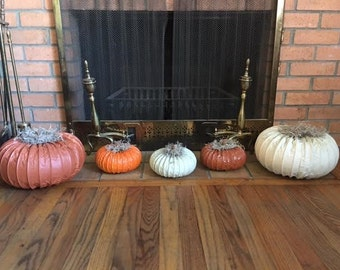 Large Decorative Pumpkins