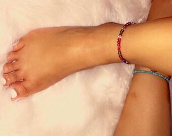 Multi Color Anklet