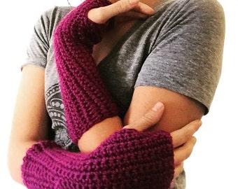 Raspberry Arm Warmers