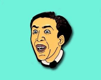 Nicolas Cage Pin