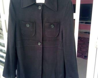 """Vintage Workshop Yohji Yamamoto Long Jacket pit 18"""" inches"""