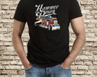 Hammer down Truck t-shirt