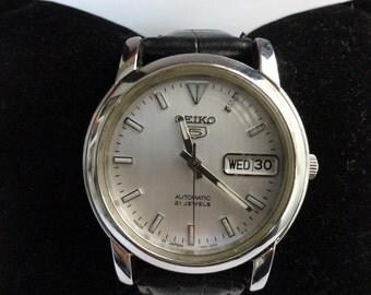Seiko -5 Series -Men's Watch -1996-2006