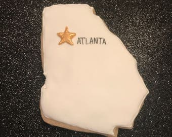 Atlanta Georgia Cookies
