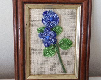 French Flower Picture Frame