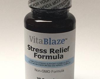 VitaBlaze Stress Relief Formula: Renew-Relax-Revive!