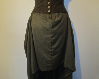 corseted skirt
