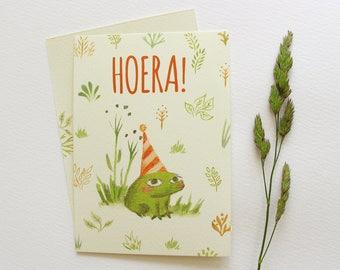 Map Frog ' Hooray! '