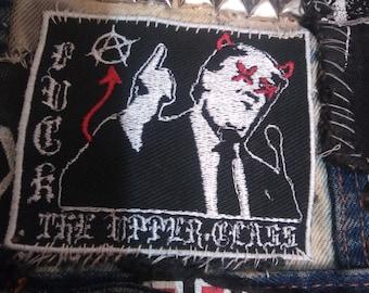 F**K The Upper Class Anti-Trump Patch