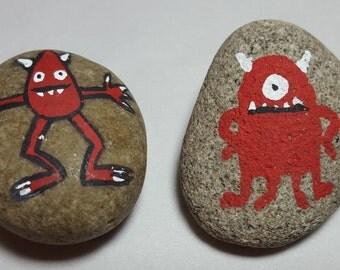Monster Pet Rock Stocking Stuffer