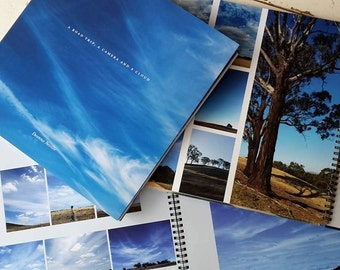 Photography Coffee Table Book - A Roadtrip, A Camera and A Cloud by Deanna Rae Neville