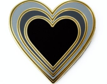 Radiant Heart – Enamel Pin for your Life