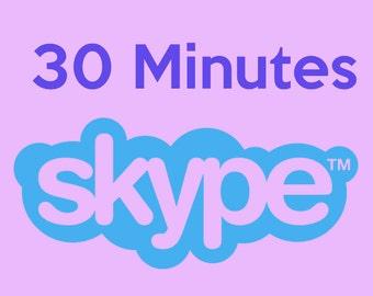 30 Minute Skype