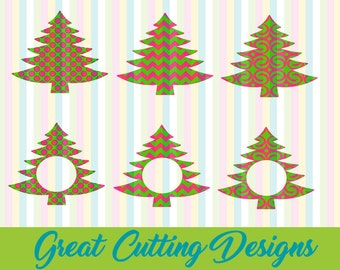 "Shop ""monogram christmas tree svg"" in Bookbinding & Printing Supplies"