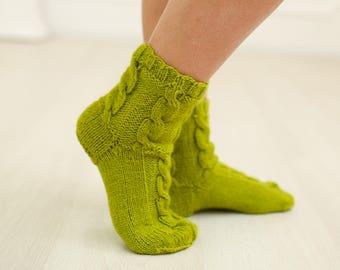 Wool socks, women's socks