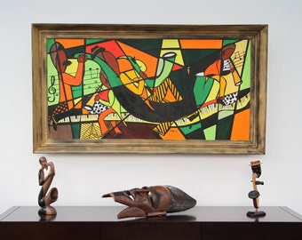 Modern painting music Theme
