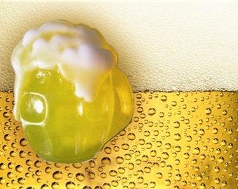 Beer Soap,Mug of Beer, Beer Lover Favor,Mens Gift, Party Favor
