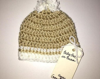 Baby Hat in Cream