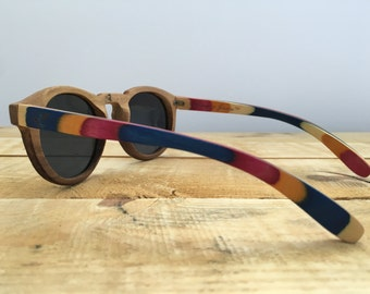 North - Wooden Sunglasses - (Polarised)