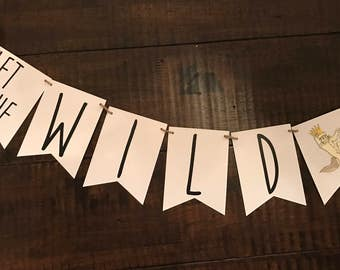 Where the Wild Things are banner/Wild Rumpus banner