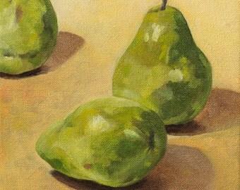 Three pears op. 3