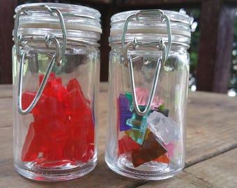 Candy Bear Jars/Fake Gummy Bear Jars/Gummy Bear Bottles