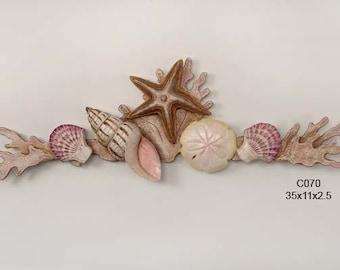 Coral Shell Swag Natural - C070