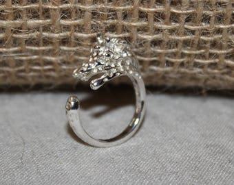 ring Silver 925 giraffe