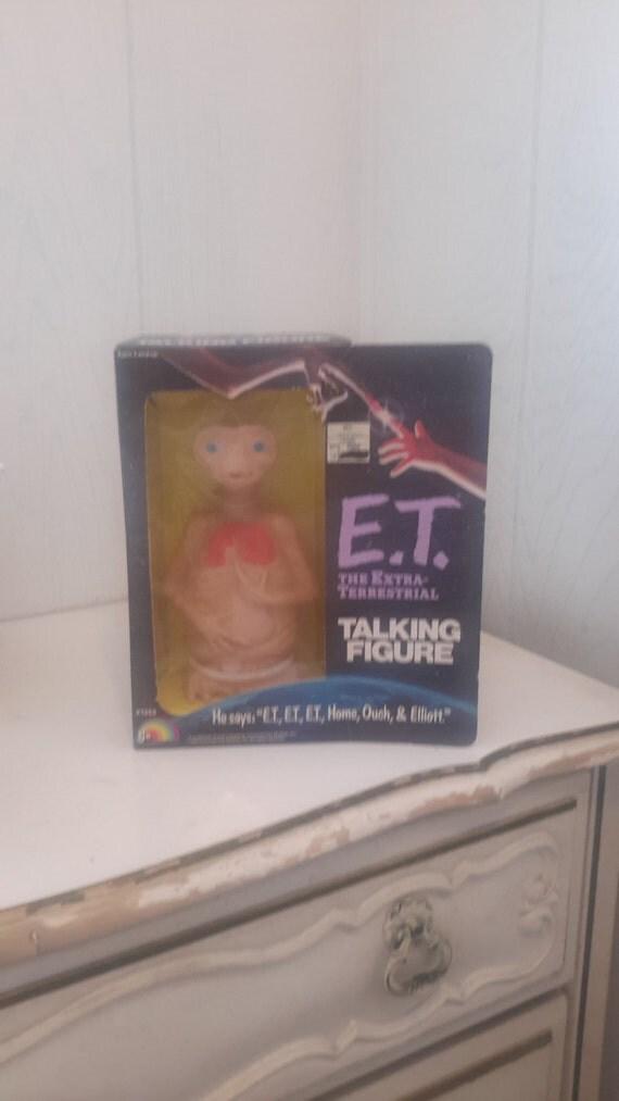 e.t.the extra terrestrial talking doll mib 1982