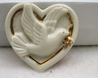 Peaceful Dove by Lenox - 24k Gold on Fine Porcelain