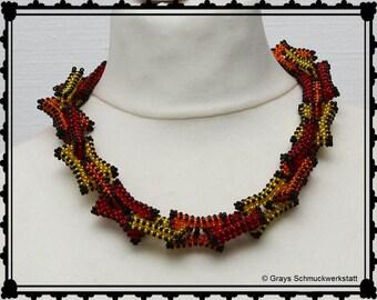 "Halskette ""Bunte Kettenglieder"" / Necklace ""Colorful chainlink"""