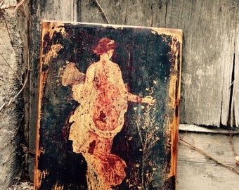 Ancient Roman Wall Painting from Pompei Wall Decor Home Decor