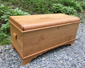 Solid Cherry Chest
