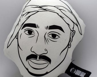 TUPAC-ILLOW-Hip Hop Throw pillow