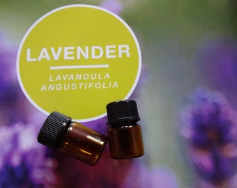Pure Lavender Essential Oil Sample
