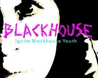 Blackhouse  Ignite Blackhouse Youth Vinyl LP autographed The 1st CHRISTIAN INDUSTRIAL band ever!