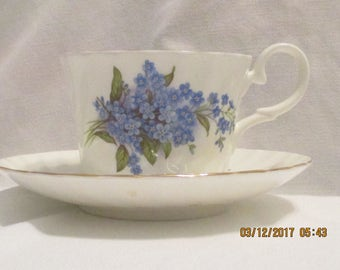 Royale Garden Vintage Cup and Saucer