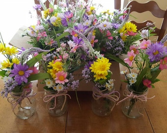 Rustic Wildflower Bouquets!