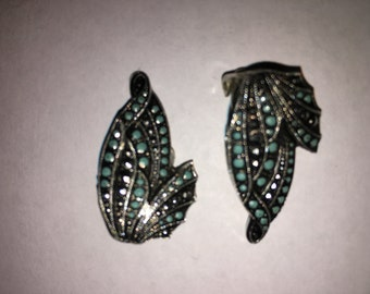 Vintage Steel Cut Earrings Made in West Germany - #114E