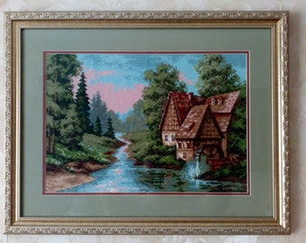 "The painting ""the mill by the river"""