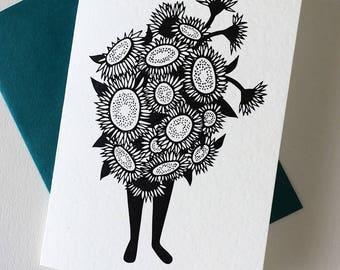 Sunflower Flower Folk