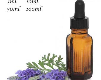 Pure & Natural Lavender Essential Oil. Aromatherapy. Massage.